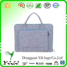 New good quality felt business briefcase for ipad,laptop,files,documents