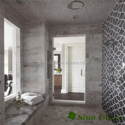 Natural stone mosaic water jet mosaic tile for bathroom wall