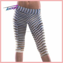 High Quality lycra Yoga Compression Tights capris for Sex Girl