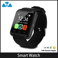 CAMERA Smart Watch u8 support Android 4.4 Dual Core CPU bluetooth smartwatch phone for iphone