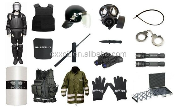 Whole Body Military Bulletproof Vest with MOLLE System