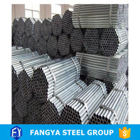 Tianjin Fangya!pipe steel galvanized hot dipped galvanized unit weight steel pipe