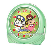 promotion clock of semicircular shape/plastic clock
