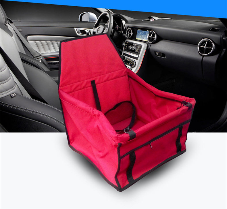 Travel storage collapsible waterproof double-deck pet booster seat