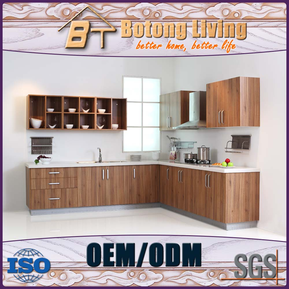 Botong Living KC-M 13 Janpanese style bamboo grain door fiber kitchen cabinet