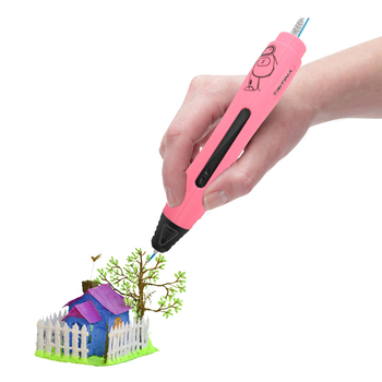 Hotsale Justgreen Geek IV 3D printing pen Real USB Port Charging kids 3d drawing pen