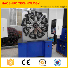 Metal Spring Making Machine CNC Servo Controlling Steel Wire Forming Machine