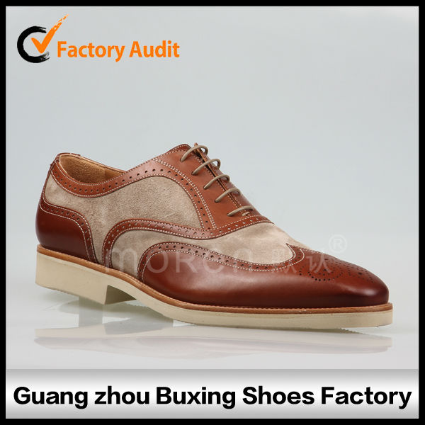 2014 Good quality leather fashion men casual shoes