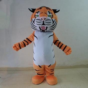 HOLA tiger mascot costume/animal costume for adult