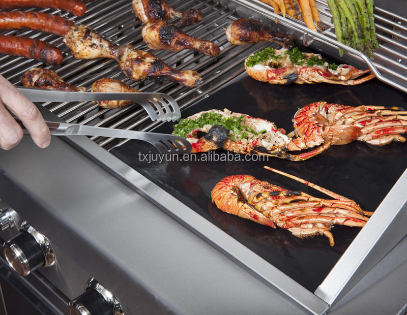 BBQ Grill Mat (Set Of 3) - A Miracle Barbecue solution for Gas, Charcoal or Electric Grill
