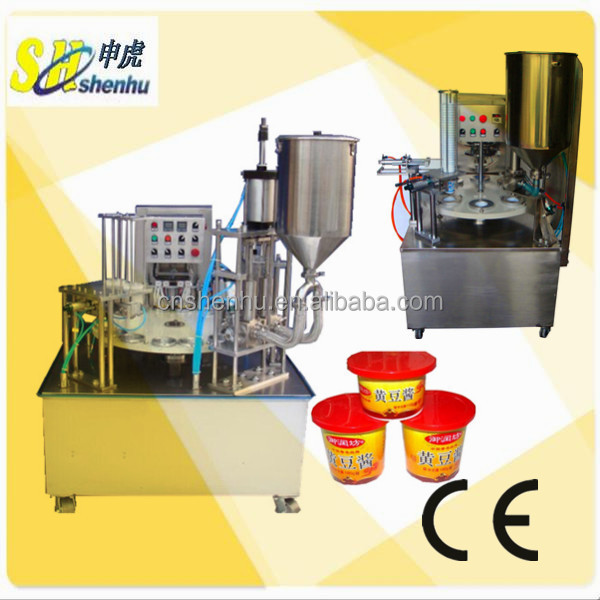 Plastic Cup Sealing And Filling Machine For Honey