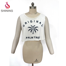 wholesale designer crop tops white crop top cropped t shirts