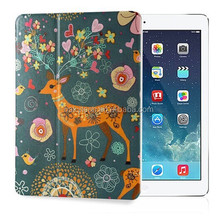 for samsung tab 7'' tablet colored drawing leather case