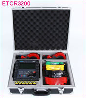 ETCR3200 Double Clamp Earthing Resistance Ground Resistivity Earth Voltage,AC Current Multimeter (RS232)