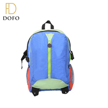 OEM design branded name fashion children backpack school bag