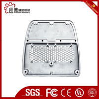 CNC machined electronic motor cover/high precision cnc electronic motor fan cover/electronic motor cover machining