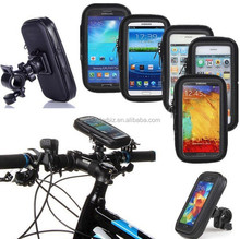 Waterproof Zipper Case Pouch Bag Motor Bike Bicycle Motorcycle cup Bar Mount for Samsung Nokia Phone iPhone Tablet GPS Holder