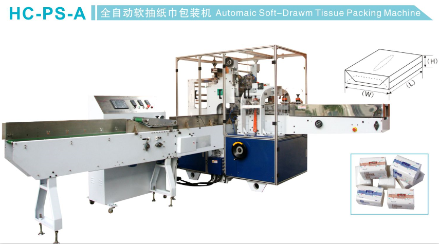 HC-PS-A hot for Save automatic soft tissue wrapping paper packing machine