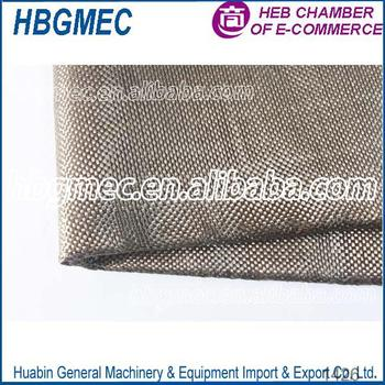 Smooth Surface Treatment Twill basalt fabric for Building repair