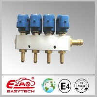 easytech rail01 4cylinder CNG LPG fuel injector nozzle of CNG LPG conversion kit
