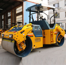 Ride-on construction machinery vibratory road roller with low price