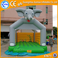 Elephant design inflatable animal bouncers/toys r us inflatable bouncers with jumping castle blower