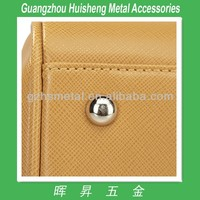 New Design Metal Bag Accessories-Brass Made Purse Feet_