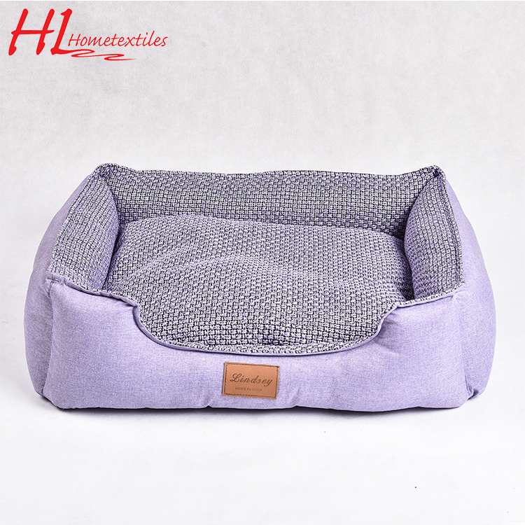 Eco-Friendly Cozy Luxury Pet Sofa, Bed Cat And Dog,Purple Pet Bed