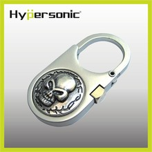 HP6129 Hypersonic custom detachable metal easy open mock-up key ring