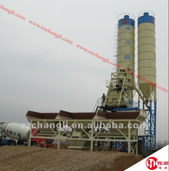 Concrete Mixing Plant HZS75(75m3/h),it features low cost and high mobility