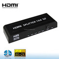 Mini 4 way HDMI Splitter With 3D Supports 1 input 4 output