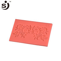 Vivid goldfish silicone fondant mold lace chocolate decorating tools