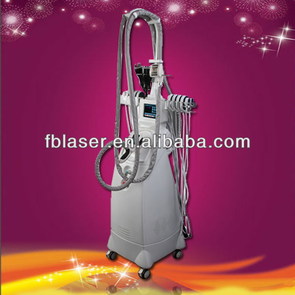 spa use vaccum suction body slimming and shaping machine