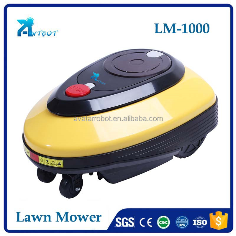 Popular factory price electric lawn mower robot/grass cutter machine