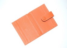 Wholesale leather card holder. new design card case, promotional card holder