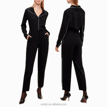 New arrival fashionable ladies custom tracksuit slim fit women pants 2017