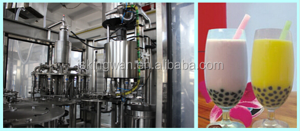 pearl milk tea making machine /non carbonated drink filler/complete plant