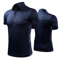 Summer style quick drying short sleeved T-shirt man fashion shirt business outdoor POLO shirt