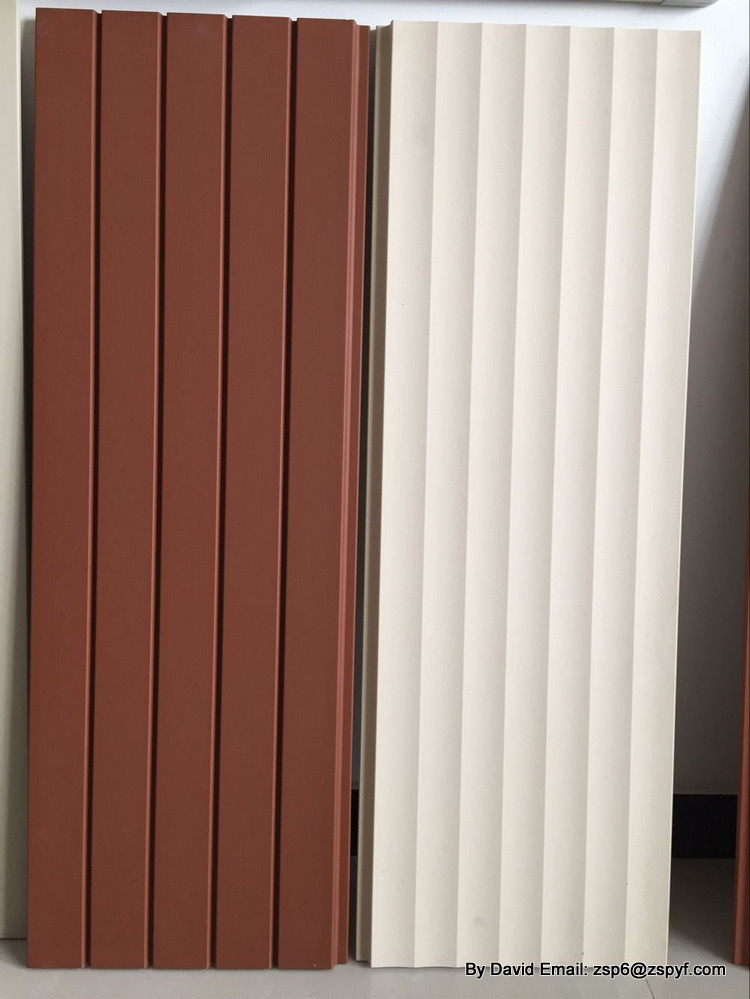 Outside building material Terracotta wall sliding tiles ,light weight exterior brick panels,terracotta curtain wall board tiles