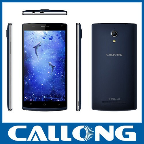 Callong K6 china mobile phone 5.5'' OGS Android 4.4 MTK 6582 quad core 8MP 3G smartphone