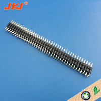 High quality long duration time 3 row pin header with low price