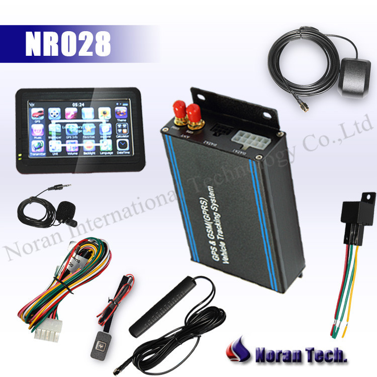 rfid gps tracker with TFT touch panel