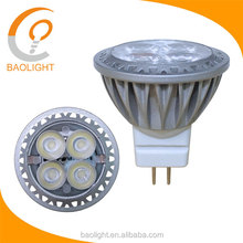 Alibaba Wholesale LED MR11 GU4 3w MR11 aluminum materials SMD LED spot lights bulb