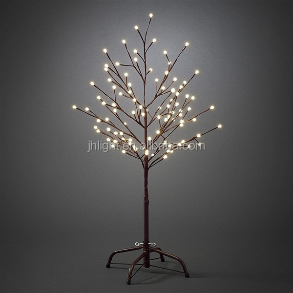 90cm braun outdoor led weihnachtsbeleuchtung zweig baum. Black Bedroom Furniture Sets. Home Design Ideas