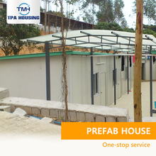Ready Made Labour Camp Light Steel Frame 20M2 Low Cost Prefabricated House For Poor People In Pakistan