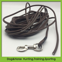 PVC round rope retractable dog leash tracking leads supplies