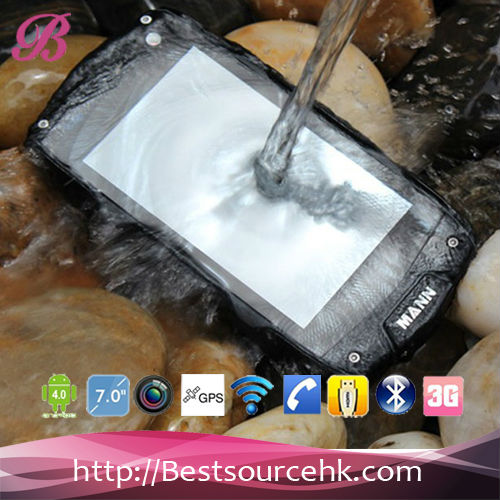Military Level IP68 waterproof 4inch A18 Rugged smartphone with 3G Bluetooth GPS WiFi Pass CE ROHS