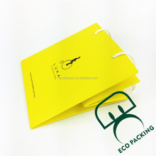 Foldable colorful Paper Shopping Bag