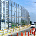 polycarbonate soundproof pc solid sheets for barricade/road block