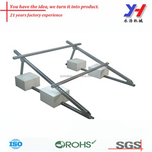 OEM ODM Custom Aluminum Profile PV Arrays Mounting Support for Solar Power Plant